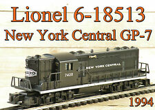 Lionel 6-18513 New York Central NYC GP-7 Diesel 1994 C9 Pullmor Motor/Horn