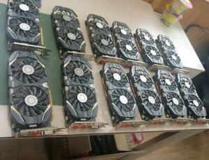 Lot 12pcs MSI GTX1060 3GB OC, GTX1060-NB-3GT-OC, GDDR5 DP+HDMI+DVI VR Ready