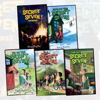 Enid Blyton Secret Seven (11-15) 5 Books Collection Set (Secret Seven Fireworks)