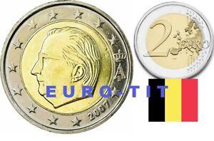 2 EURO    BELGIQUE       2007     PIECE    SUPERBE     BELGIQUE      disponible