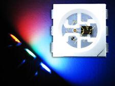 10 Stück WS2812 6-PIN RGB SMD 5050 PLCC6 LED mit integriertem WS2811 Controller