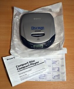 Sony Discman Personal CD Compact Disc Player Groove D-181 Exc condition!