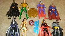 DC Universe Classics Marvel Legends scale BATMAN.WONDER WOMAN SUPERMAN  Lot
