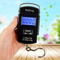 40/50kg LCD Digital Electronic Hanging Fishing Luggage Weight Scale