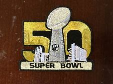 Buy 1 Get 1 Free Super Bowl 50 Iron-On Patch Denver Broncos Carolina Panthers