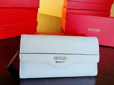 Guess Wallet Modesto SLG AA750251 Coal Woman Clutch Trifold Purse Brand New