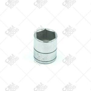 """SK Hand Tools 40918 1/4"""" Dr. 9/16"""" 6pt Standard Fractional Chrome Socket"""