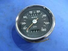 Smiths Black Face Speedometer, SSM 5007/00A, 150 MPH, Triumph T120 T140,  B1671