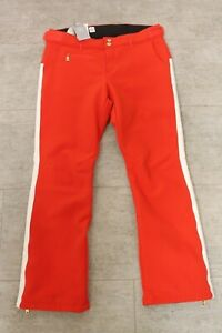 Bogner Hailey Women's Ski Pants Red White all Sizes New with Label