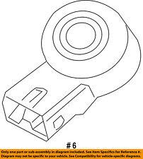 CHRYSLER OEM-Ignition Knock (detonation) Sensor 68166540AA