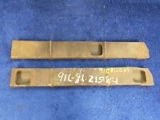 1944-47 FORD PANEL DELIVERY TRUCK  DOOR GLASS RETAINERS  PAIR  NOS 1116