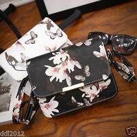 Women Floral Leather Shoulder Bag Tote Purse Handbag Messenger Crossbody Satchel