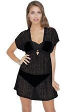 NWT Profile Black Bikini Swimsuit Cover Up Dress Size Medium MSRP $88 #3702