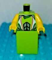 Lego Lot of 1 Bight Green Dress Minifigure Body Female Girl Customize your Head