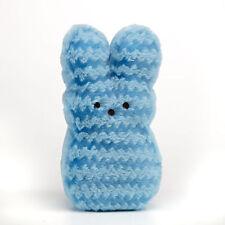 "Easter Marshmallows Peeps Light Blue Rabbit Bunny Plush Stuffed Animal 9"""