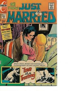 Just Married #98 - November 1973 - Charlton, Martinez & Zuniga Cover- Very Fine!