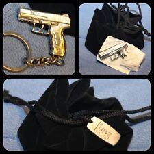 H&K P30 Pistol Keychain Pouch Heckler & Koch HK45 P7 Mark23 VP9 VP40 USP SP5K