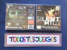 CAJA Original Silent Hill Playstation Play Station Ps1 Ps2 Ps3 (LEER) 0558