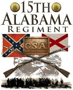 15th Alabama Regiment American Civil War 11 X 14 Print