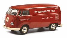 Schuco VW T1 Kasten PORSCHE 1:18