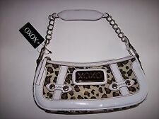 XOXO Purse Handbag Womens Hobo Style Animal Reflection Leopard Print  NWT
