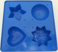 Floating or fun candle making mould star, love heart, shell and flower shapes