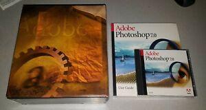 ADOBE PHOTOSHOP 7.0 MICROSOFT WINDOWS FULL RETAIL VERSION SEALED MANUAL