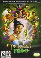 Disney The Princess And The Frog PC Games Windows 10 8 7 XP Computer kid