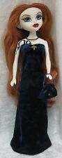 Made For BeGoths BLEEDING EDGE Gothic Doll, Clothes #08 Dress, Purse & Necklace