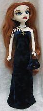 BeGoths BLEEDING EDGE Gothic Doll Clothes #08 Handmade Dress, Purse & Necklace