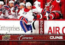 2012-13 Upper Deck Canvas #106 Gabriel Dumont
