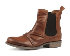 EOS Willo Brandy Leather Ankle Boots RRP$220 Willow Chelsea Boot Casual Shoes
