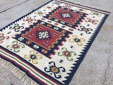 Handmade Turkish Kilim Kelim Rug 257x175cm shabby chic wool, country home, boho
