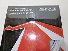 NEW   Alligator Brake Cable Kit Super Fortress Front & Rear Set  White