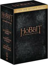 The Hobbit Trilogy (DVD, 2015, Extended Edition)