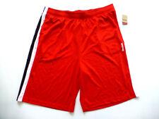 Reebok Big & Tall Mens 2XL Mesh Basketball Shorts with Color Block Sides New