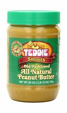 Teddie All Natural Peanut Butter Smooth 26-Ounce Jar (Pack of 3) Free Shipping