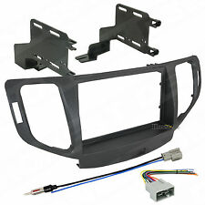 95-7805CH Double Din Radio Install Dash Kit & Wires for TSX, Car Stereo Mount