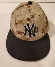 NY Yankees New Era 59Fifty Digital Camo Fitted Size 7 1/4 Fitted Cap