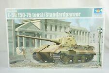 TRUMPETER 01536 GERMAN E-50 (50-75 tons) Standardpanzer 1/35 SCALE