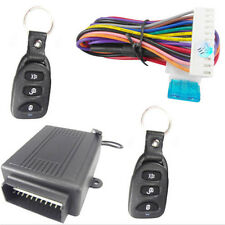 12v Universal Remote Control Rc Central Car Door Lock Kit Keyless Entry System