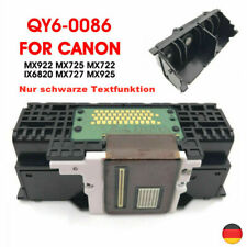QY6-0086 Druckkopf Schwarz für Canon MX728 722 925 MX928 922 MX924 IX6780 6880