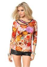 Figurbetonte Melrose Damenblusen, - tops & -shirts aus Viskose