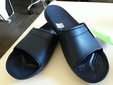 Crocs New with Tags Classic Navy Slide Mens U.S Size 12 Free Postage Included