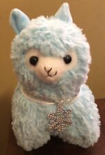Amuse Happy Snow Alpacasso Blue Snowflake Arpakasso Alpaca Plush