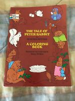 The Tale Of Peter Rabbit Coloring Book FOR COLORING NANCY PERKINS, 1971 unused