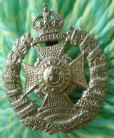 The Rifle Brigade (Prince Consort's Own) Regiment Cap Badge KC 50 mm ANTIQUE Org