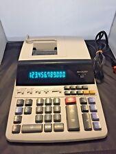 Sharp El-1197Piii Printing Calculator Large