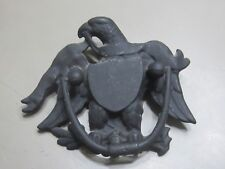 Vintage Cast Iron Federal Bald Eagle Door Knocker by Wilton Prod