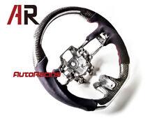 Carbon Fiber Steering Wheel w/ Alcantara for 2015-2017 Mustang EcoBoost 5.0 GT